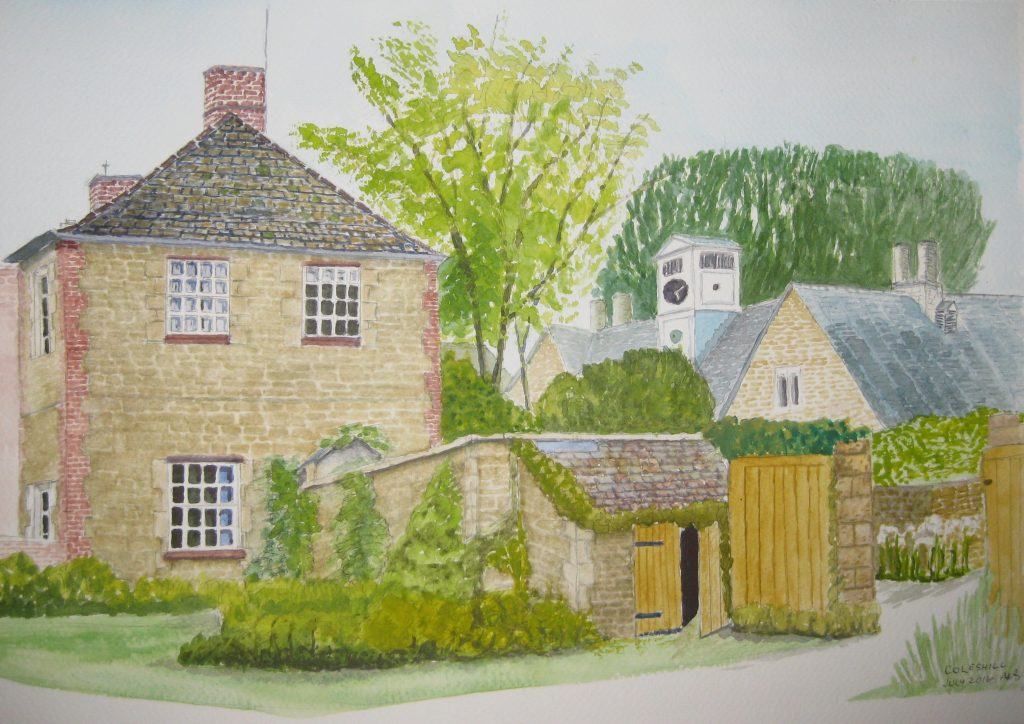painting of coleshill